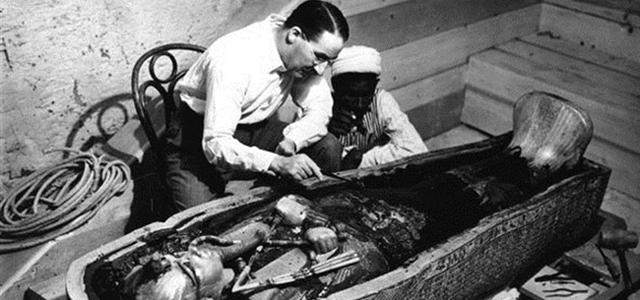 Открытие гробницы Тутанхамона