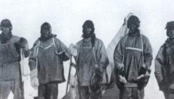 Руаль Амундсен и Роберт Скотт: южный полюс