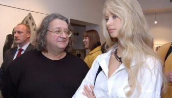 Молодая жена Градского — русская красотка Марина Коташенко — актриса и модель