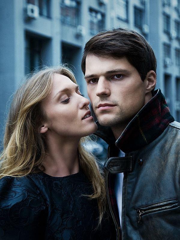 Козловский с бывшей женой Уршулой Малкой