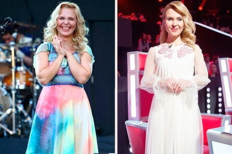 Фото Пелагеи До Похудения. Как похудела певица Пелагея. Была ли пластика? Сравним на фото до и после