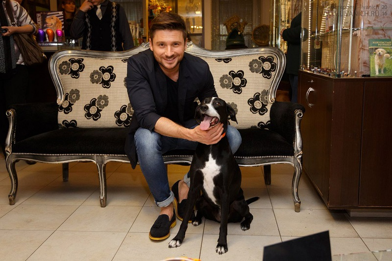 Сергей Лазарев – собака Дейзи и кошка Тигра
