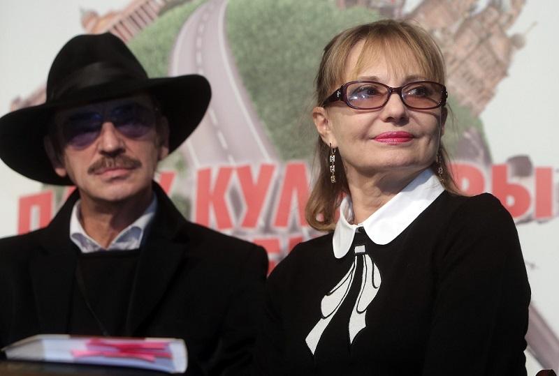 Михаил Боярский и Лариса Луппиан